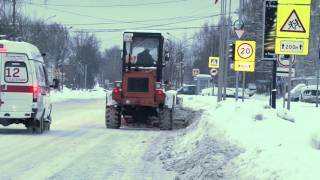 Уборка снега(, 2016-01-22T11:25:56.000Z)