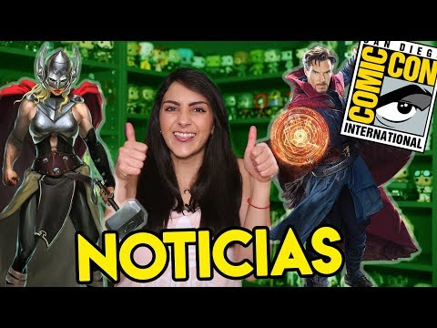 ¡Lo mejor de Comic-Con! Thor 4, Doctor Strange 2, The Witcher, Rick and Morty y más || ExtraordiNews
