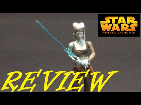 Toy Review: Star Wars ROTS Aayla Secura / Jedi Knight (#32) Hasbro 2005