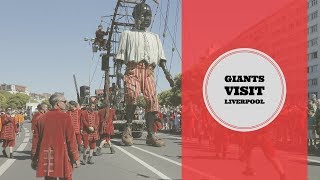 Liverpool Giant Puppets 2018 Best Views - Liverpool's Dream by Royal de Luxe