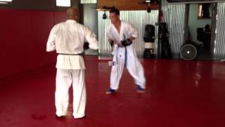 Kyokushin Karate at Dojo Americana, Oceanside, California