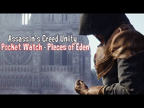Assassin's Creed Unity Pocket Watch - Pieces of Eden | الارتفاكت