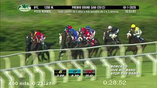 Vidéo de la course PMU GRAND SAM 2012