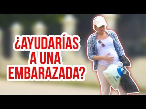 Mujer EMBARAZADA En PROBLEMAS En La Calle (Experimento Social)