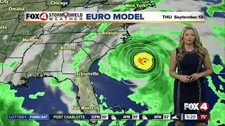 Hurricane Florence update -- 5am Wednesday