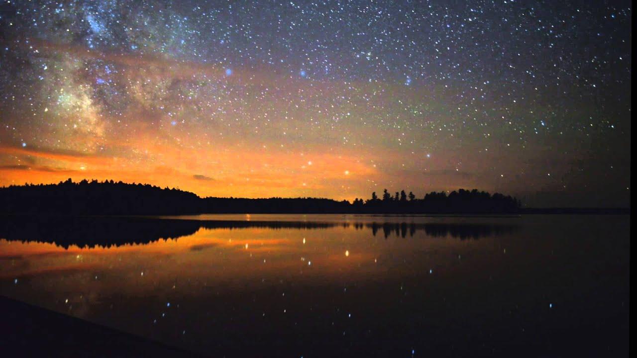 Night Sky Love Stars Wallpaper