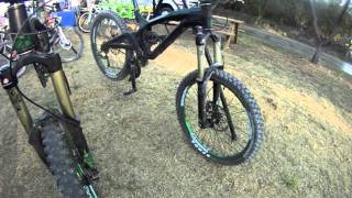 GT MTB bicycles Miami 2011