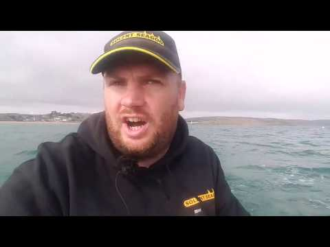 Bass Fishing Weymouth With Lures On The Boat.