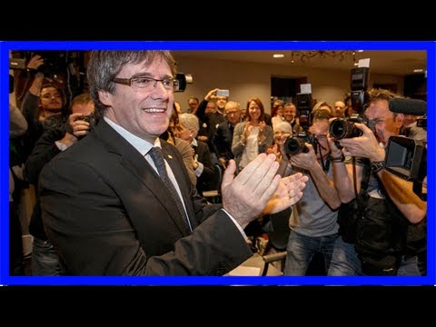 Spain drops european arrest warrant for sacked catalan leader