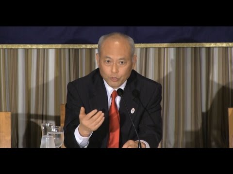 """Yoichi Masuzoe: """"2020 and Beyond: Preparing for the Olympic and Paralympic Games"""""""