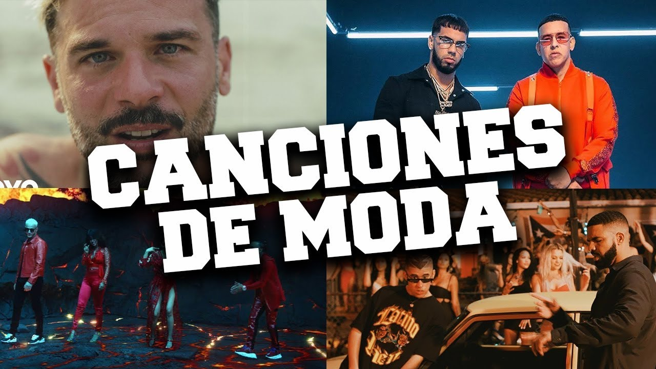 Top 65 Canciones De Moda 2019 Enero Musica En Español E Ingles Youtube