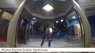 Milton Keynes: Indoor Skydiving (60 second product review)