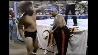 7 13 88 Bruiser Brody vs Abdullah The Butcher WWC Wrestling