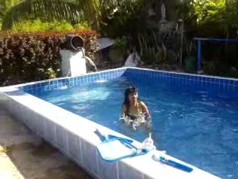 Swimming Pool At My House Youtube