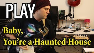 How to play Baby You're a Haunted House on Guitar - Gerard Way