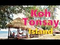 Relaxing on Koh Tonsay Island, aka as Rabbit Island Cambodia!