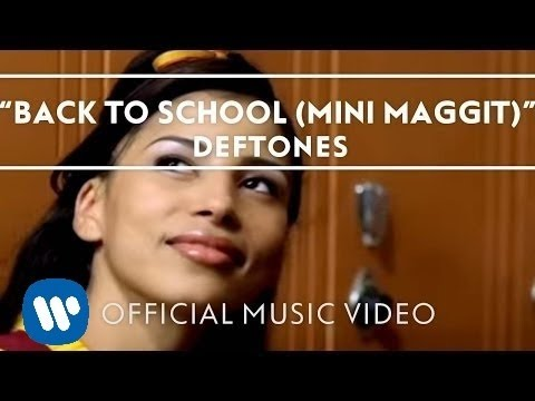 Deftones - Back To School (Mini Maggit) [Official Music Video]