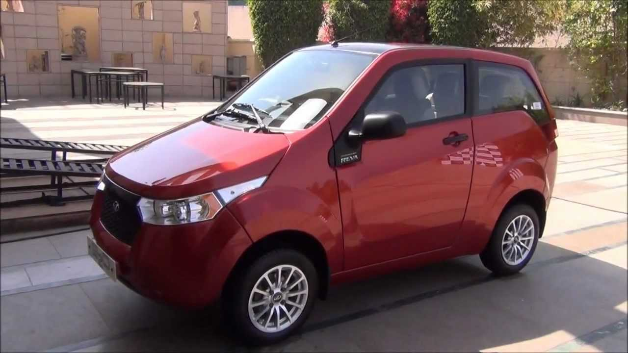 Mahindra Reva Electric Car Review Exteriors Interiors And