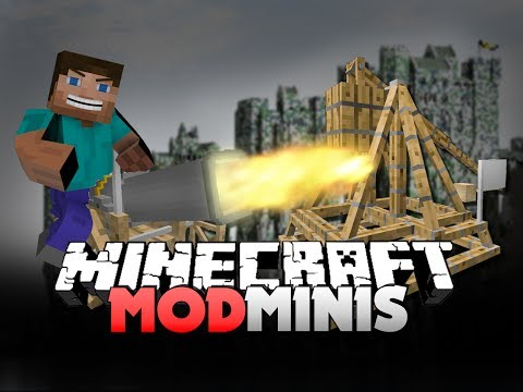 Minecraft Mod Mini - ANCIENT WARFARE