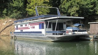 1988 Jamestowner 16 X 64 Houseboat For Sale On Lake Cumberland Ky - Sold!