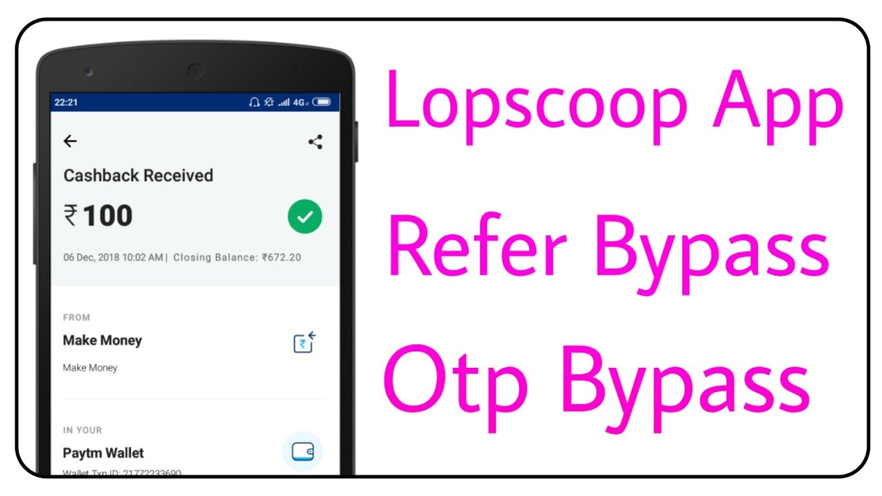 [ Otp Bypass ] Lopscoop App Refer & Otp Bypass [ Hindi ]