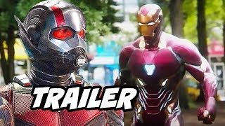 Ant-Man and The Wasp Avengers Trailer - Avengers 4 Future Characters Breakdown