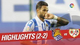 Resumen de Real Sociedad vs Rayo Vallecano (2-2)