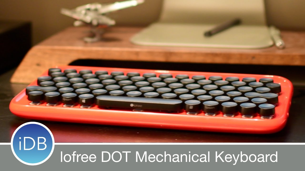 9b0bbb71791 lofree DOT is a Retro, Bluetooth, Mechanical Keyboard for Mac w/ Many  Features