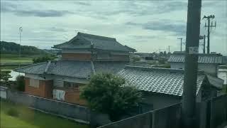 【車窓からの風景】田植 JR福知山線宝塚から三田までの旅♪