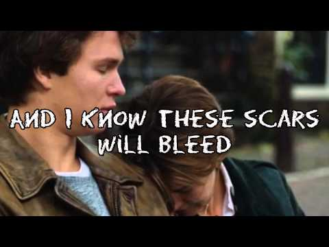 "All of the Stars - Ed Sheeran - from ""The Fault in Our Stars"" (Lyrics + Picture)"