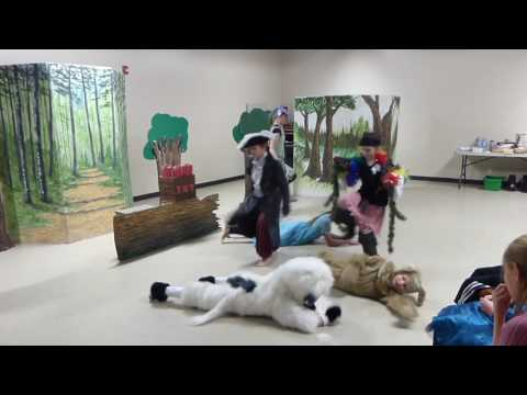 Excerpt of Adventures In Neverland - Calgary Theatre Classes for kids