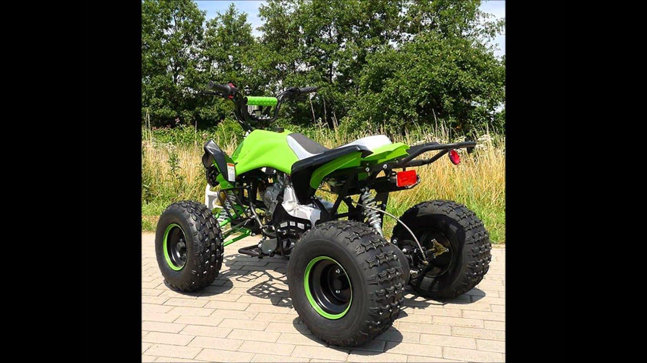 Quad 125cc Carbone Pneus 8