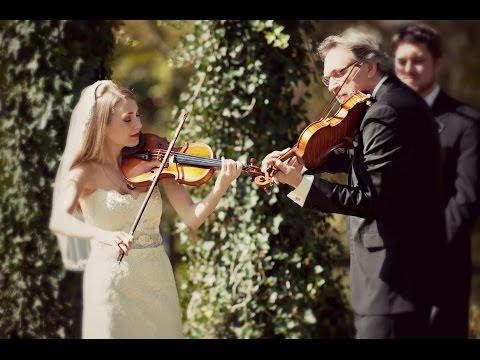 "Mark and Maggie O'Connor (Wedding Video Duet) ""Appalachia Waltz"""