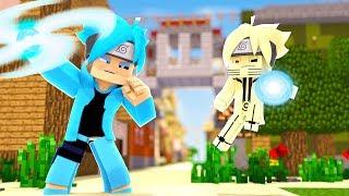 Minecraft: BORUTO - BORUTO CHAKRA AZUL vs SARUTO CHAKRA DA KURAMA #91