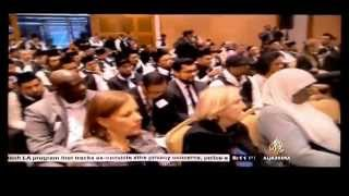 News Coverage of Ahmadiyya Muslim Youth Association's Event at ONE UN
