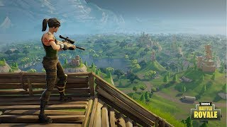FORTNITE BATTLE ROYALE LIVESTREAM (PS4 Pro) Chill Friday Solo's with Upshall