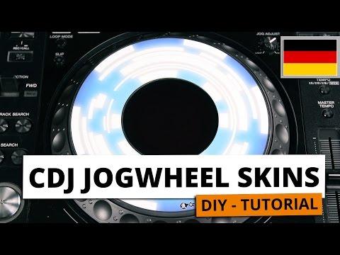 Dj Skins Pioneer DJ CDJ JOGWHEEL BREAKOUT Skins la paire vidéo