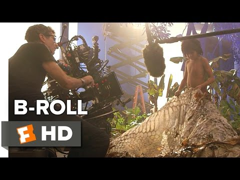 The Jungle Book B-ROLL (2016) - Scarlett Johansson, Lupita Nyong