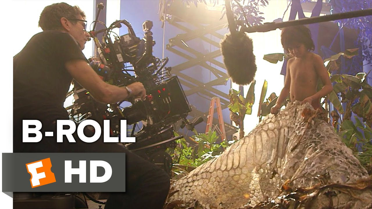Download The Jungle Book B-ROLL (2016) - Scarlett Johansson, Lupita Nyong'o Movie HD