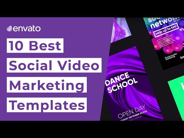 10 Best Social Media Marketing Video Templates [2019]