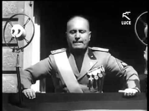 Discorso Camera Mussolini : I discorsi di mussolini ppt video online scaricare