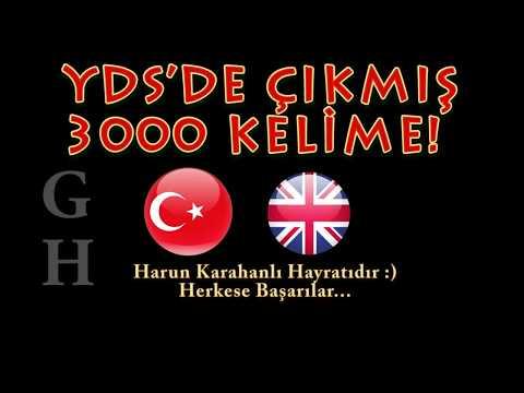 YDS'DE ÇIKMIŞ 3000 KELİME -GH-