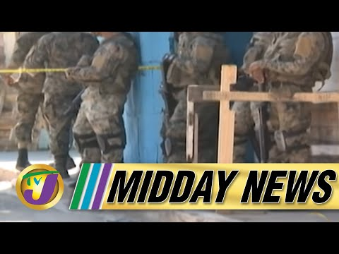 Two Soldiers Injured & a Man Dead in St. Catherine Jamaica   TVJ Midday News - June 24 2021