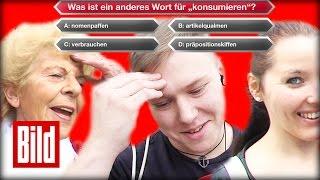 Wie klug ist Deutschland? Wer wird Millionär? - 50 Euro Frage verhauen (Umfrage) Günther Jauch
