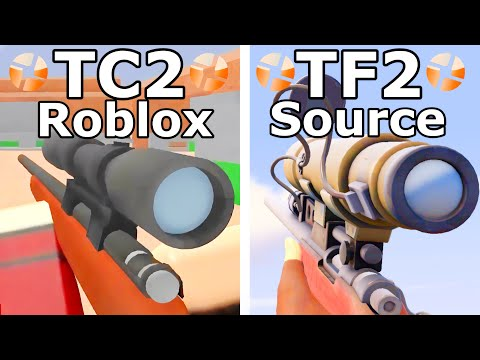 Team Fortress 2 vs. Typical Colors 2 - All Weapons Comparison 4K 60FPS