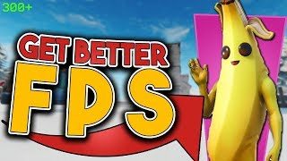 Get Better FPS in Fortnite - Improve Low End PC Performance