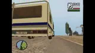 Gta san andreas Towing  Caravan trailer with Dodge Ram