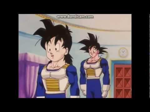 Dragon Ball Z Son Goku és Son Gohan belépnek az edző terembe letöltés