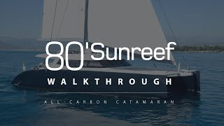 Sunreef 80 Carbon Line LEVANTE on Wealth TV - Cannes 2013