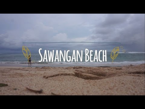 SAWANGAN BEACH ADVENTURE // BALI INTERNSHIP 2017